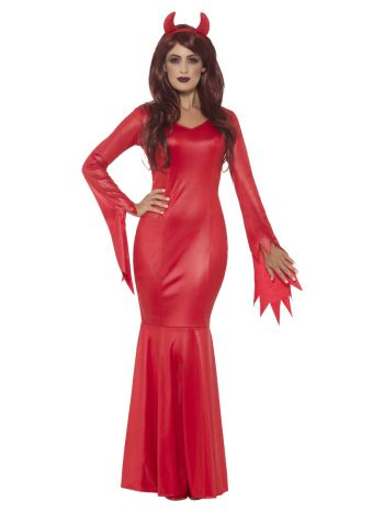 Devil Mistress Costume, Red
