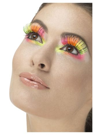 80s Party Eyelashes, Neon