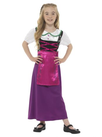 Bavarian Princess Costume, Multi-Coloured