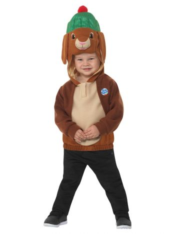 Peter Rabbit, Benjamin Bunny Deluxe Costume, Brown