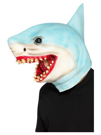 Shark Overhead Mask, Blue