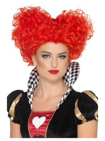 Heart Wig, Red