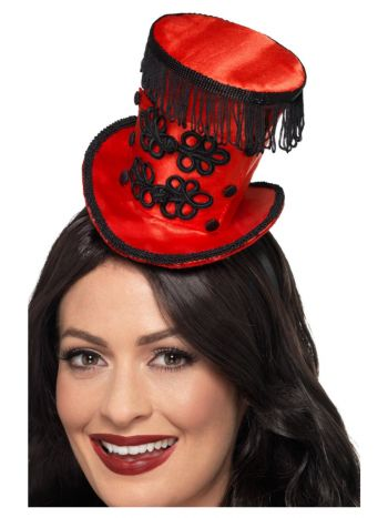 Ring Master Mini Hat, Red