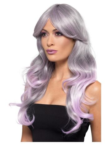 Fashion Ombre Wig, Wavy, Long