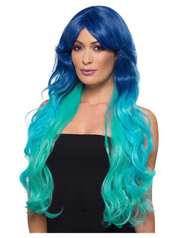 Fashion Mermaid Wig, Wavy, Extra Long