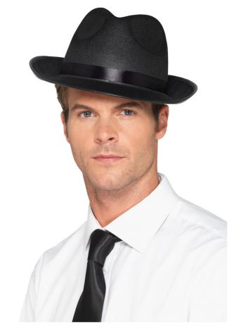 Men's Fedora Hat, Black