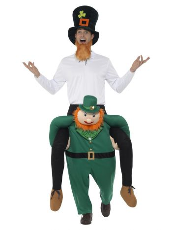Piggyback Paddy's Leprechaun Costume, Green