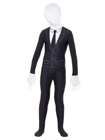 Supernatural Boy Costume, Black & White