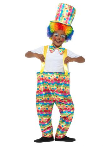 Boys Clown Costume