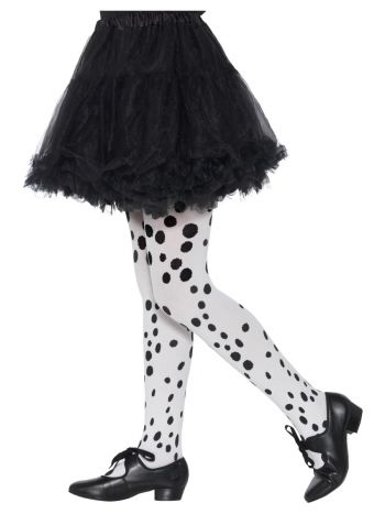 Dalmatian Tights, Childs, Black & White