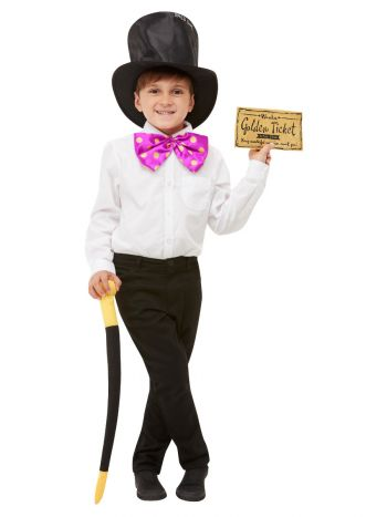 Roald Dahl Willy Wonka Kit, Black