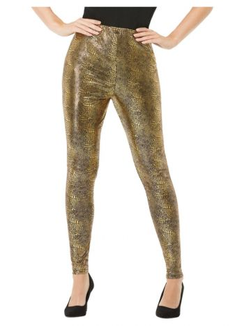 Dragon Scale Leggings, Gold