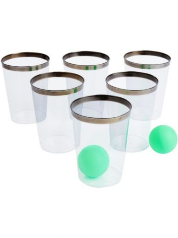 Party Pong Game, Gin Edition, Multi-Coloured
