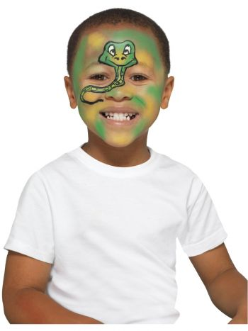 Smiffys Make-Up FX, Kids Animal Kit, Aqua, Multi-C