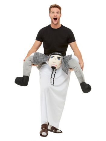 Piggyback Sheikh Costume, Black