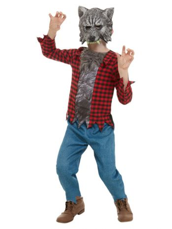 Werewolf Costume, Red
