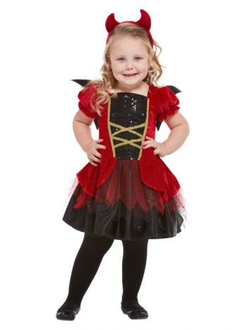 Toddler Devil Costume, Red
