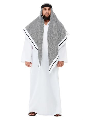 Deluxe Fake Sheikh Costume, White