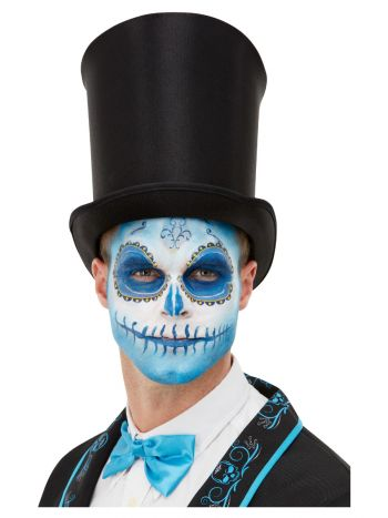 Smiffys Make-Up FX, Day Of The Dead Kit, Aqua, Blu