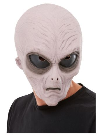 Alien Latex Mask, Purple