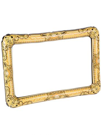 Inflatable Picture Frame, Gold