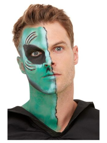 Smiffys Make-Up FX, Alien Kit, Aqua,