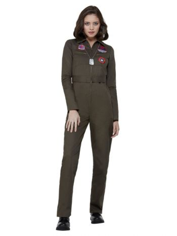 Top Gun Ladies Costume, Khaki