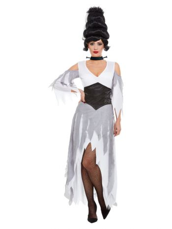 Gothic Bride Costume, White