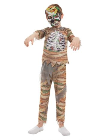 Zombie Mummy Costume, Cream