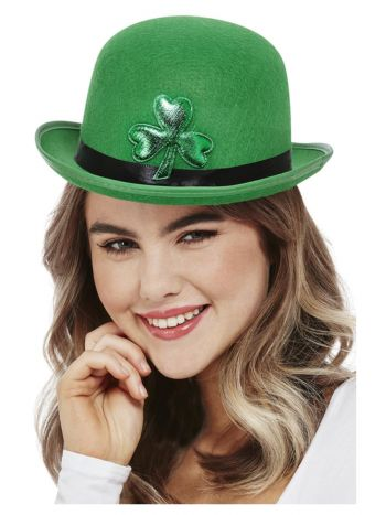Paddy's Day Bowler Hat, Felt