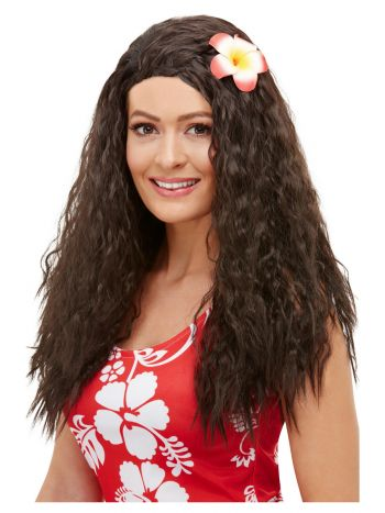 Hawaiian Wig, Brown