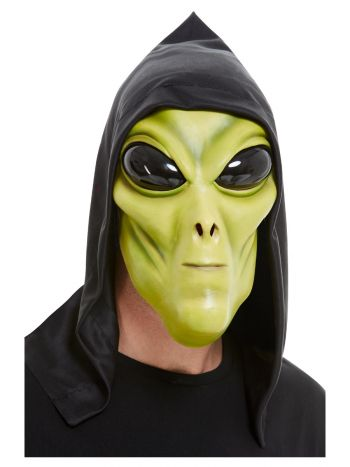 Alien Latex Mask, Green