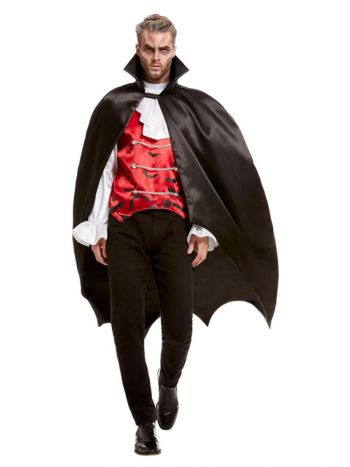 Vampire Bat Cape, Black