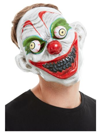 Clown Mask, White