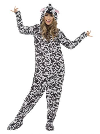 Zebra Costume, Black & White