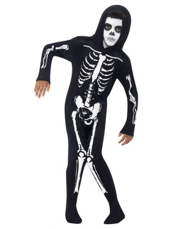 Skeleton Costume, Black