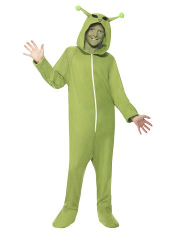 Alien Costume, Green