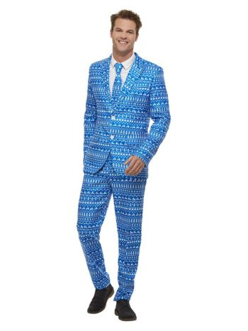 Wrapping Paper Suit, Multi-Coloured