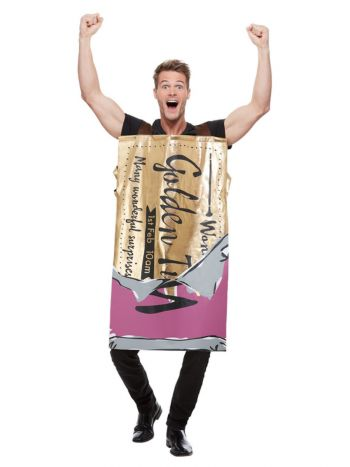 Roald Dahl Winning Wonka Bar Costume, Purple