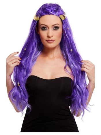 Fortune Teller Wig, Purple