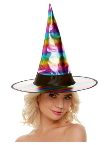 Rainbow Witch Hat,