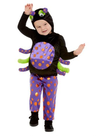 Toddler Spider Costume, Black