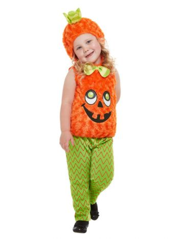 Toddler Pumpkin Costume, Orange
