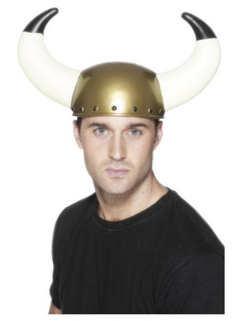 Viking Helmet, Gold