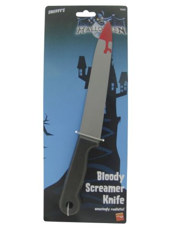 Blood Stained Screamer Knife, Grey