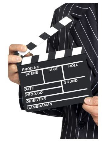 Hollywood Style Clapper Board, Black
