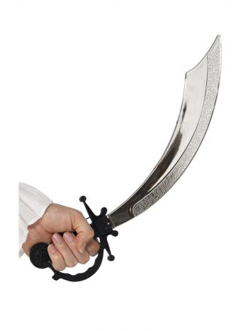 Pirate Sword, 50cm / 20in, Silver