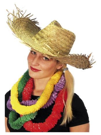 Beachcomber Hawaiian Straw Hat, Straw