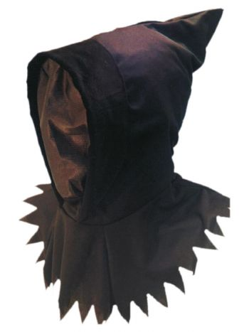 Ghoul Hood & Mask, Black