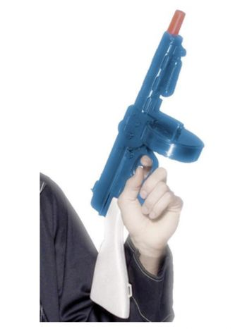 Gangster's Tommy Gun, Blue